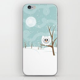Arctic Owl iPhone Skin