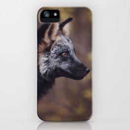 Cross Fox iPhone Case