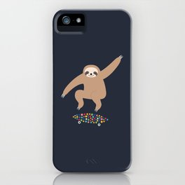Sloth Gravity iPhone Case