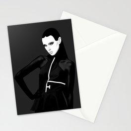 black & little white Stationery Cards