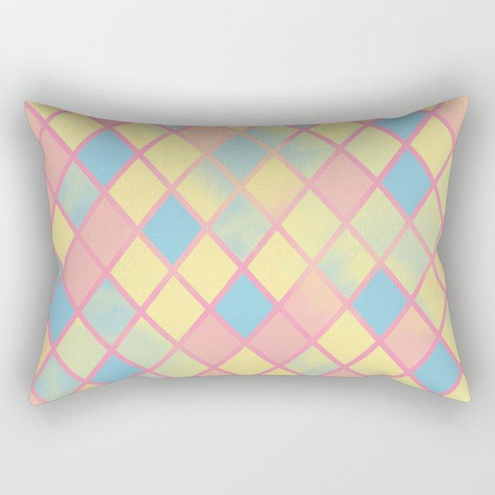 .YellowDiamonds. Rectangular Pillow