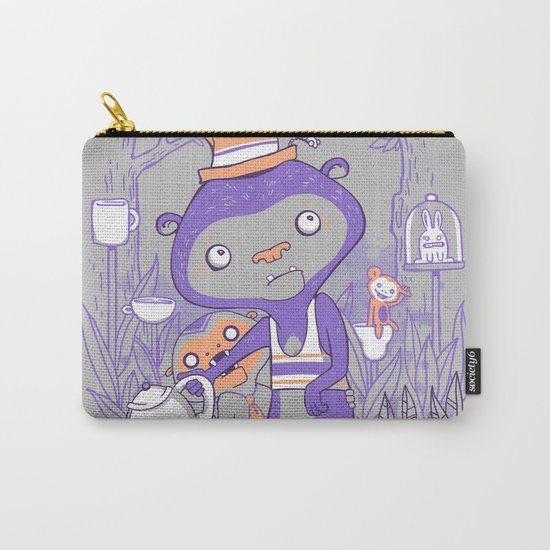 Tea Monkey Tea Party Carry-All Pouch