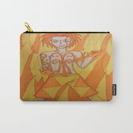Boy on fire  Carry-All Pouch