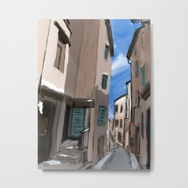 Fayence, France Metal Print