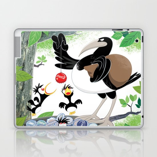 Thieving Magpies Laptop & iPad Skin