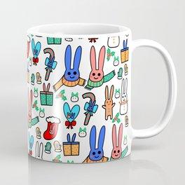A Very Bunny Christmas Coffee Mug