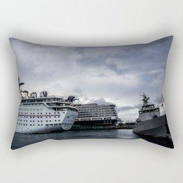 Port of Call...Nassau Rectangular Pillow