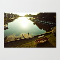 Possibilities for an Evening Sail Canvas Print