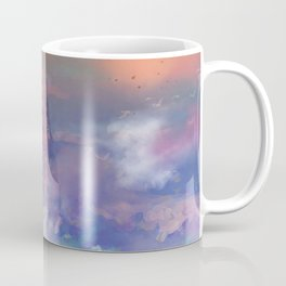 Towards the mount Olympus Coffee Mug