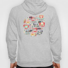 Travel Back in Time Hoody