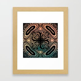 Interlock: color Framed Art Print