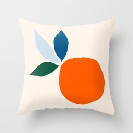 When Life Gives You Citrus – Detail Throw Pillow