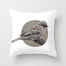 Pilanesberg Bird 01 Throw Pillow