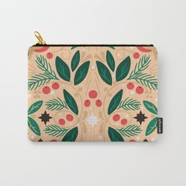 Nordic Christmas Birds Carry-All Pouch