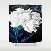 blossom Shower Curtains featuring Blossom by Layne Andrews