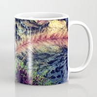 waterfall Mugs featuring Waterfall by ALP-Fotografie