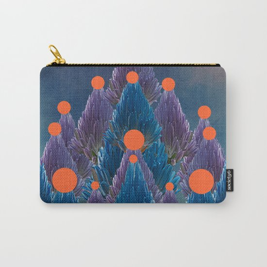 Floral abstract(49). Carry-All Pouch