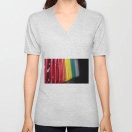 Clips of color Unisex V-Neck