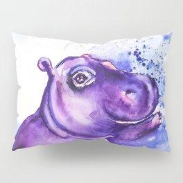 Fiona the Hippo - Splashing around Pillow Sham