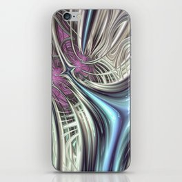 Cosmic Orchid - Fractal Art iPhone Skin