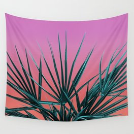 Pink Palm Life - Miami Vaporwave Wall Tapestry