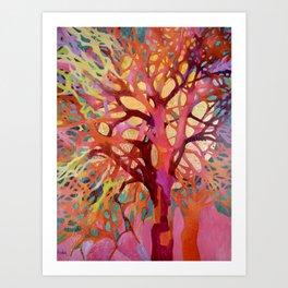 Singing trees.6 Art Print