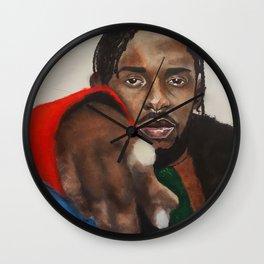 lyrics,goat,damn,rapper,colourful,colorful,poster,wall art,fan art,music,hiphop,rap,rapper,legend Wall Clock