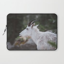 Mountain Goat in Black Hills National Forest Laptop Sleeve