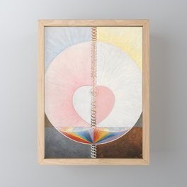 Hilma af Klint, The Dove Framed Mini Art Print