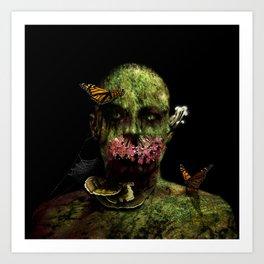 Moss Man Art Print