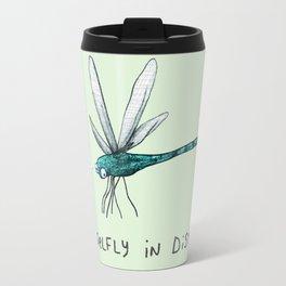 Damselfly in Distress Travel Mug