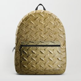 Gold Painted Metal Stylish Design Backpack