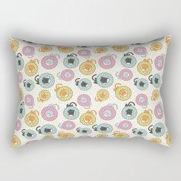 Donut Cat Rectangular Pillow