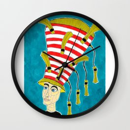 1920's English Cloche Wall Clock
