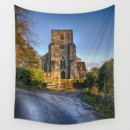 The Lane To St Michael's. Wall Tapestry