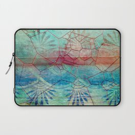 Pastel Seashell Mosaic Laptop Sleeve