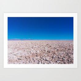 San Pedro de Atacama Salt Field, Chile Art Print