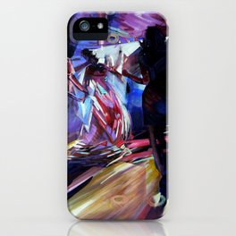 The Bride's Dance. iPhone Case