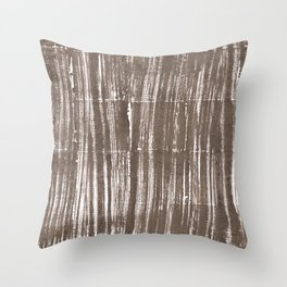 Shadow abstract watercolor Throw Pillow