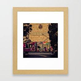 Tram Framed Art Print