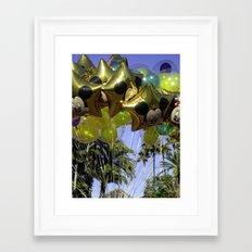Disney Balloons Framed Art Print