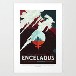 Enceladus Art Print