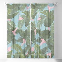Wild Flower #society6 #decor #buyart Sheer Curtain