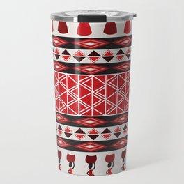 African Tribal Pattern No. 64 Travel Mug
