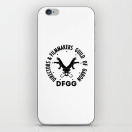 DFGG iPhone Skin