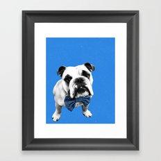Blue Bowser Framed Art Print