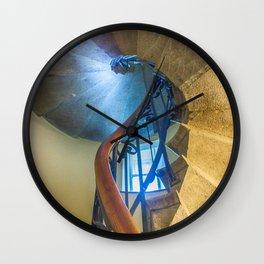 Old stairways Wall Clock