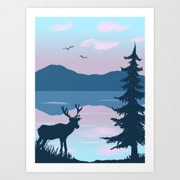 A Place I Call Home Art Print