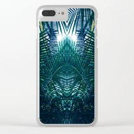 Jungle gate Clear iPhone Case