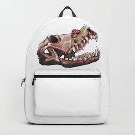 Coyote Skull Plus Snail Trail Backpack